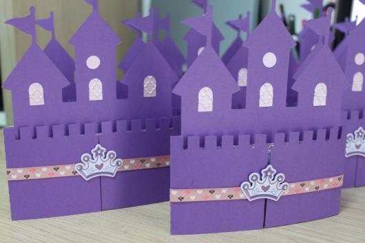 Convites Princesa Sofia castelo de EVA