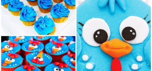 cupcake galinha pintadinha azul