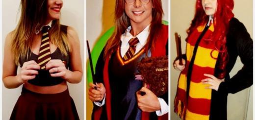 Fantasia Harry Potter feminina modelos
