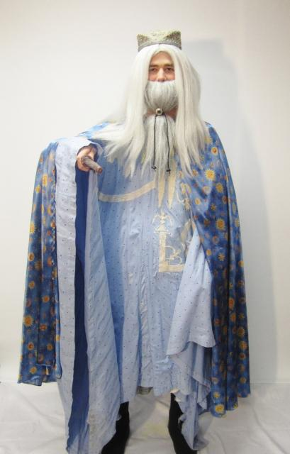 Fantasia Harry Potter professor Dumbledore azul