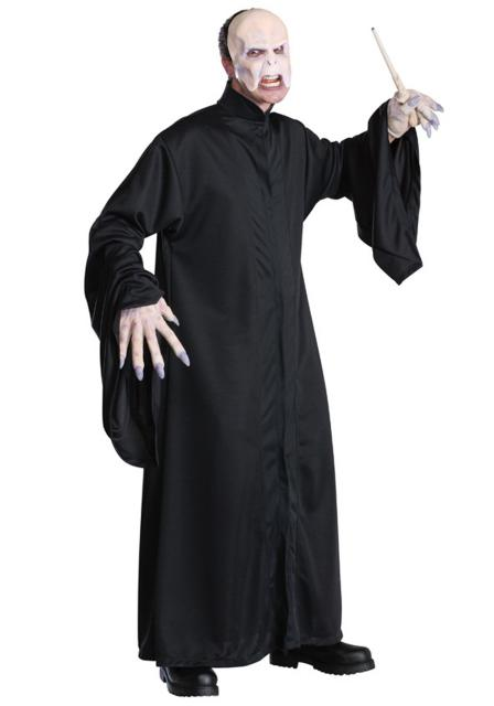 Fantasia Harry Potter masculina Lord valdemort com máscara
