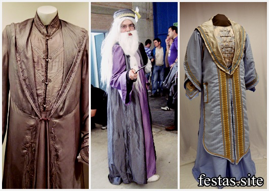 Fantasia Harry Potter modelos Dumbledore