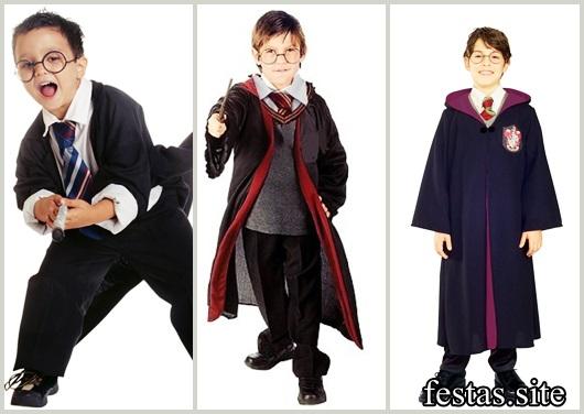 Fantasia Harry Potter modelos para menino