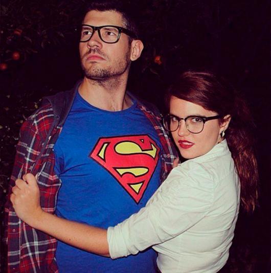 Fantasia para Casal Super homem e Lois Lane