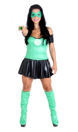 Fantasias Femininas Lanterna Verde