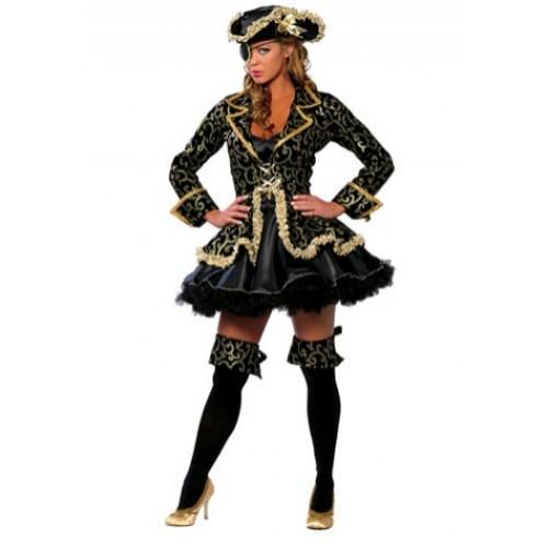 Fantasias Femininas pirata preta
