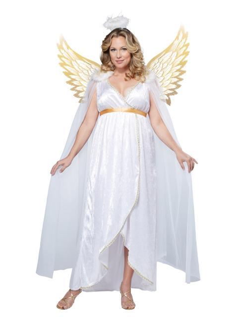 Fantasias Femininas biblica anjo