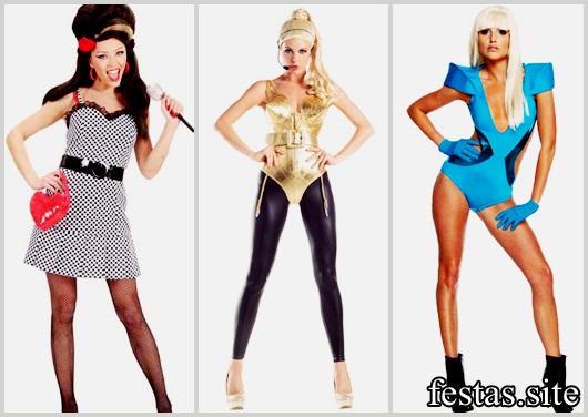 Fantasias Femininas modelos de famosos
