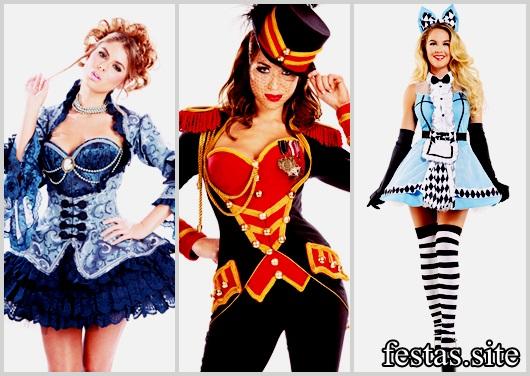 Fantasias Femininas modelos de luxo