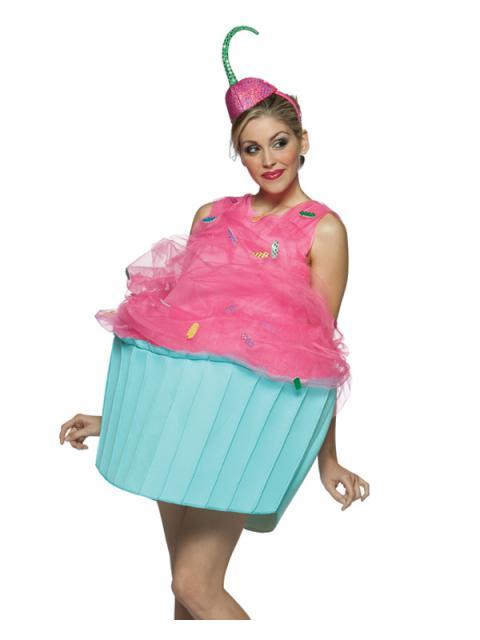 Fantasias Femininas cupcake