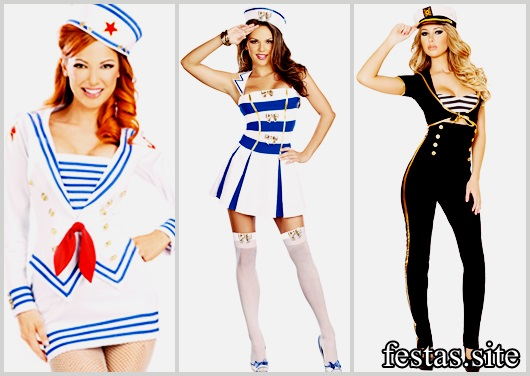 Fantasias Femininas modelos de marinheira