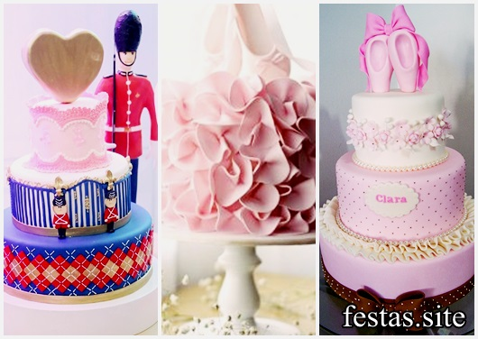 Festa Bailarina bolos