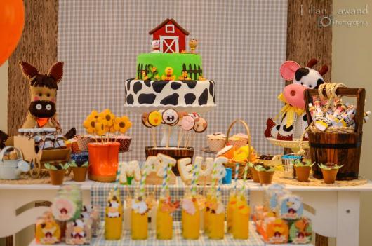 Festa Fazendinha baby simples