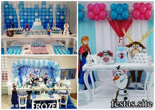 Festa Frozen 50 Modelos Belíssimos De Decorações Para Sua Festa