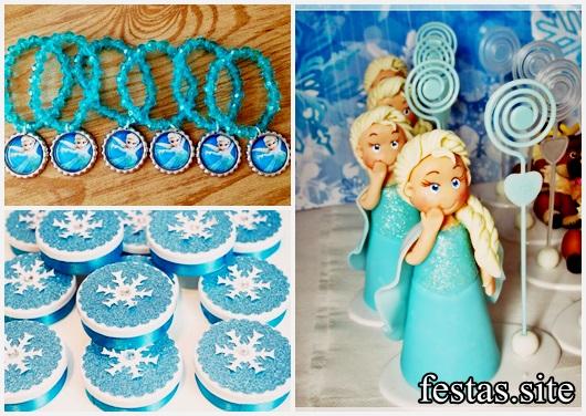 Festa Frozen modelos de lembrancinhas