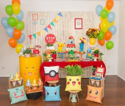 festa Pokémon picnic