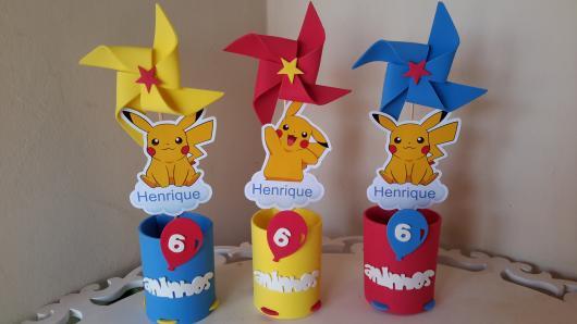 lembrancinha festa Pokémon