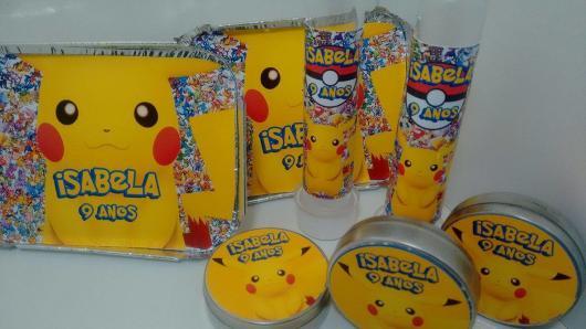 lembrancinha festa Pokémon básica