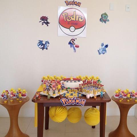 festa Pokémon caseira