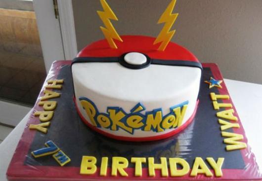 festa Pokémon bolo de pokebola