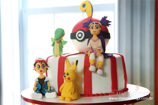 festa Pokémon bolo diferente