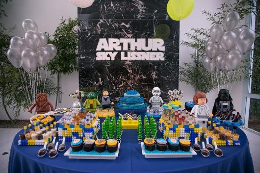 Festa Star Wars de lego