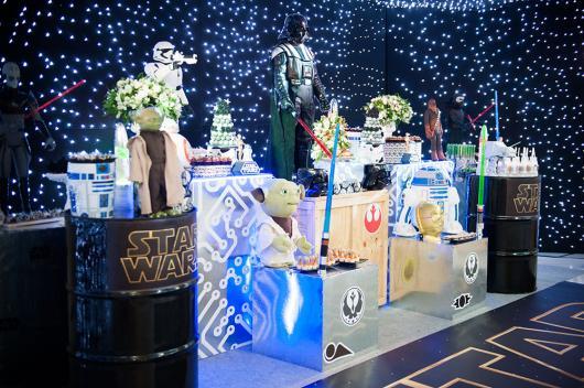 Festa Star Wars para crianças