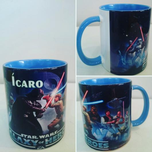 Festa Star Wars caneca acrílico
