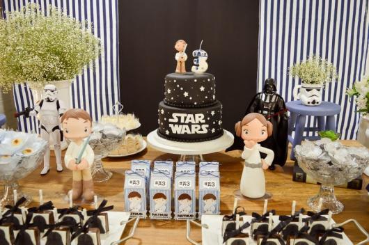 Festa Star Wars decoração infantil