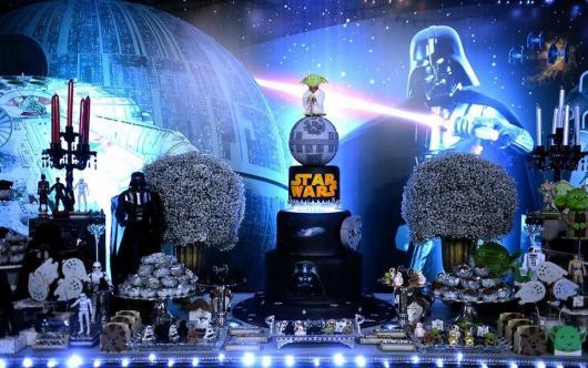 Festa Star Wars de luxo