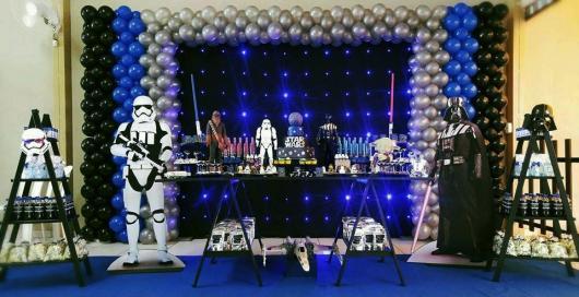 Festa Star Wars luxuosa