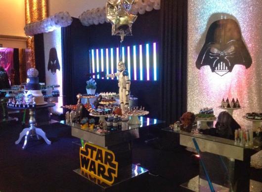 Festa Star Wars de sofisticada