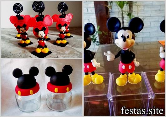 Lembrancinhas de Biscuit modelos Mickey