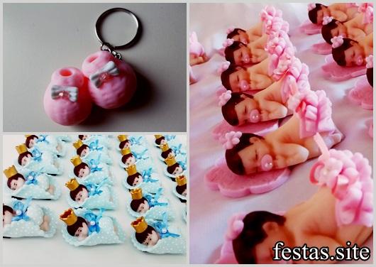 Lembrancinhas de Biscuit modelos de maternidade
