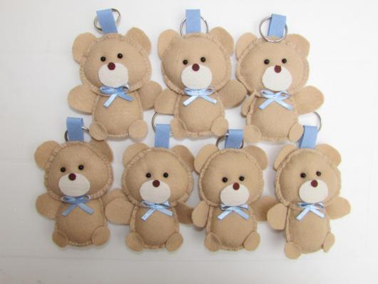 Lembrancinhas de Feltro maternidade ursinho