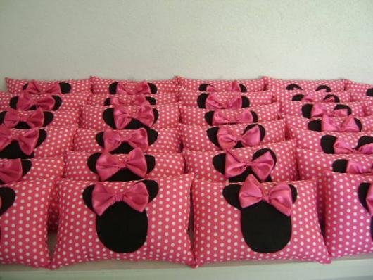 Lembrancinhas de Feltro Minnie almofada