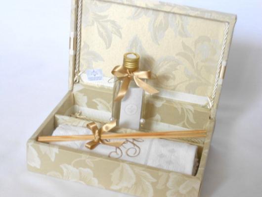 Lembrancinhas para padrinhos de batismo essencia para perfumar ambiente