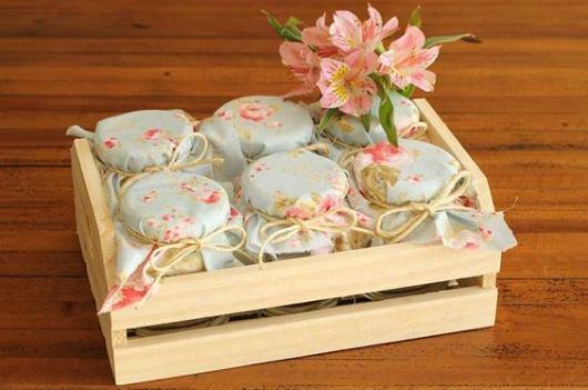 Lembrancinhas para Padrinhos de Casamento rústico caixa de doces