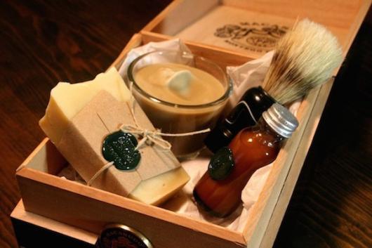 Lembrancinhas para Padrinhos de Casamento kit de barbear