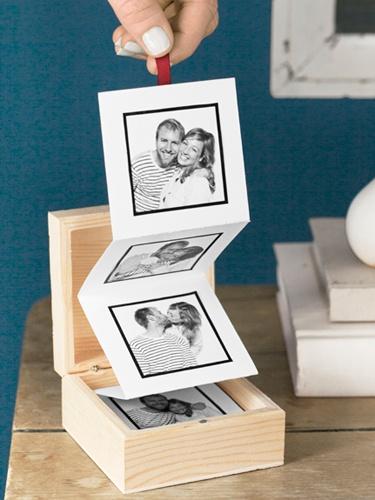 Presentes Criativos para Namorada caixinha com fotos