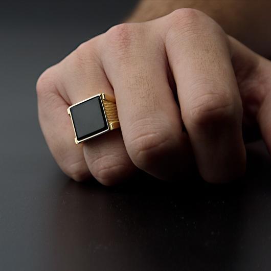 Presentes para Homens sofisticado anel