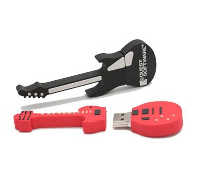 Presentes para Homens pen drive de guitarra