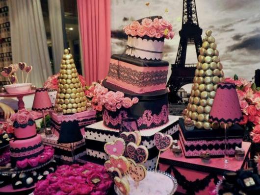 Temas para festa de 15 anos París