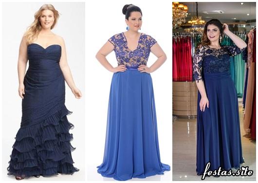 944139272 Vestido de Formatura Azul – 50 Modelos Lindíssimos & Dicas de Looks!
