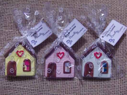 Chá de Casa Nova lembrancinha mini casinha