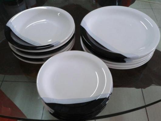 Chá de Panela Simples kit de pratos para presente