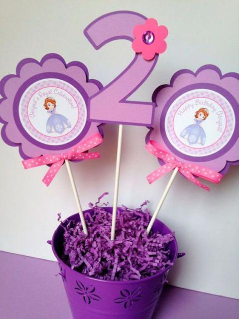 ideia festa Princesa Sofia