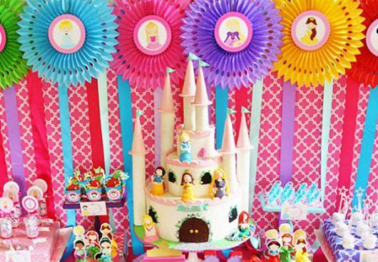 festa princesas cute