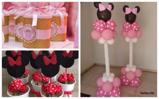 ideias festa Minnie