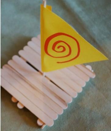 ideia simples festa Moana